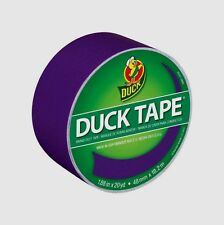 "NEW Duck Tape Duct Tape 1.88"" x 20 Yd. Purple Color, Color Coding Crafts 283138"