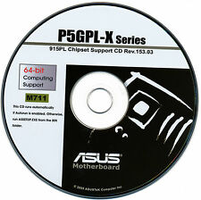 ASUS P5GPL-X  Motherboard Drivers Install  M711
