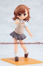 To aru Kagaku no Railgun promo figure Misaka Mikoto mini Majutsu no Index Authen