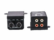 Universal Car Home Amplifier Bass Controller RCA Gain Level Volume Control Knob