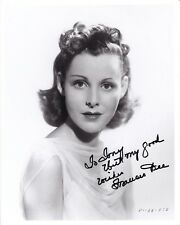 FRANCES DEE Original SIGNED AUTOGRAPHED Paramount Portrait Photo Hollywood