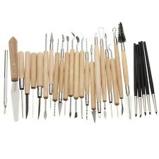 27pcs Silicone Rubber Shaper Pottery Clay Sculpture Carving Fimo Modeling Tool S