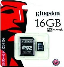 Tarjeta de memoria Kingston micro SD 16GB clase 10 MicroSD