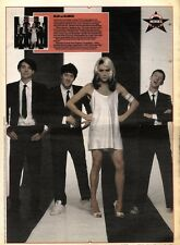 28/12/91 Pgn67 Picture: Blur Dress As Heroes Deborah Harry & Blondie 15x11""