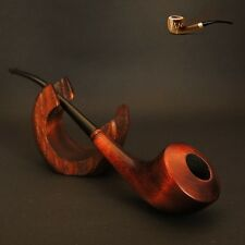 "HAND MADE WOODEN TOBACCO SMOKING PIPE CHURCHWARDEN "" Diana "" 7.9"""