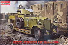 ROLLS-ROYCE ARMOURED CAR - PATTERN 1914 - WW I BRITISH ARMOURED CAR 1/35 RODEN