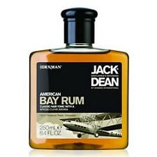 Denman Jack Dean American Bay Rum Hair Dressing Tonic 250ml