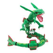 POKEMON RAYQUAZA PELUCHE 80 CM pupazzo plush doll 384 leggendario x y drago big