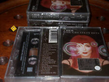 CHER The Greatest Hits K7 Cassette Mc..... New