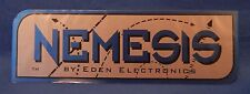 NEW NEMESIS BY EDEN ELECTRONICS STICK ON NAME PLATE FOR GUITAR AMPLIFIER PA