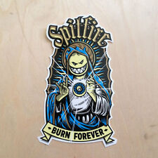 Spitfire vinyl skateboard sticker wheels DLX mother mary jesus BURN FOREVER SK8
