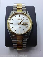 Men's Vintage SEIKO PRESIDENT WATCH 2 Tone GOOD CONDITION