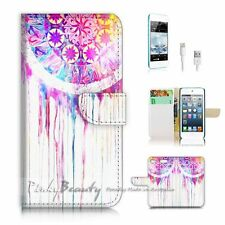 iPod Touch 6 iTouch 6 Flip Wallet Case Cover! P0172 Dream Catcher