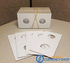 6 Premium 2x2 Dime Coin Case Holders Paper Flips - FREE SHIPPING!