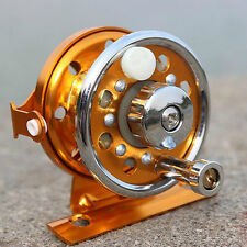 Mini Portable Alloy Ice Fishing Reel for Winter Gold Travel Sea Freshwater Reels
