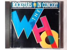 THE WHO Rockstars in concert cd RARISSIMO ROLLING STONES EDDIE COCHRAN