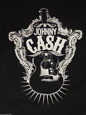 Johnny Cash Zion Rootswear Graphic T-Shirt Guitar Size Medium
