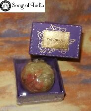 Patchouli Song of India Solid Perfume NEW Sealed Hand carved Soapstone Jar