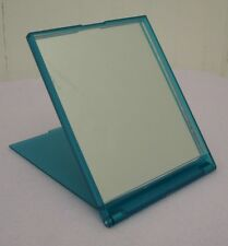 New Lancome Blue Makeup / Cosmetic Folding / Table Mirror