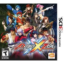 NEW Project X Zone  (Nintendo 3DS, 2013) NTSC