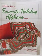 New Herrschners Favorite Holiday Afghans Crochet Pattern Book Volume 1 Christmas