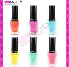 6 PASTEL COLLECTION Nabi Square Glass Nail Polish