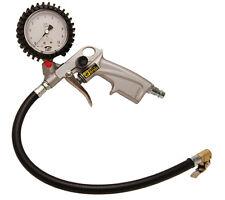 BGS Werkzeug PRO+ Druckluft-Reifenfüllpistole, geeicht Messuhr Druckluftpistole