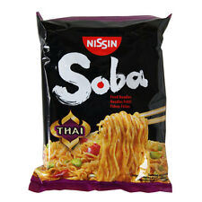 NISSIN SOBA JAPANESE FRIED INSTANT NOODLES - THAI - 9 PACKETS