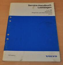 Volvo FH12 Geartronic Diagnose Störung  LKW Lastwagen Truck Werkstatthandbuch