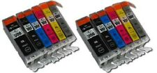 now ink 12 x CANON PGI-550 BK CLI-551 BK/C/M/Y AND GREY COMPATIBLE pixma MG6350