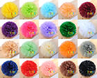 "Tissue Paper Pom Poms Flower Ball Wedding Party Birthday Decor 6""/8""/10""/15"""