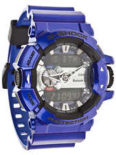 * NUOVO * CASIO UOMO G SHOCK Metallizzato Viola Mix Bluetooth Musica WATCH gba-400-2