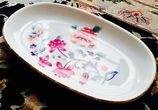 Vintage Royal Vale English Bone China Sandwich Tray In Exellent Condition