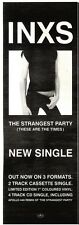 """ARTICLE - ADVERT 15/10/94PGN22 INXS : THE STRANGES PARTY SINGLE 15X5"""""""
