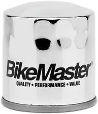 Bikemaster Oil Filter Chrome