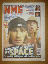 NME 1997 FEB 22 SPACE U2 BUSH JAMES ORB LONGPIGS BLUR