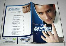 Spartiti MATTEO TARANTINO La mia voce 2005 Fisarmonica Orchestra Liscio songbook