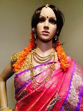 Flowers 4 Hair Malai Saram Garland Bollywood Indian Strand Orange Kanakamparam