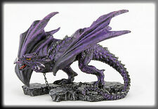 AZAR Ornamental Chained Dragon Figurine By Alator Giftware & Nemesis Now. 22cm.