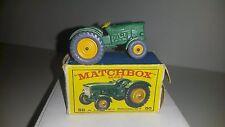 Matchbox 1-75 Modellauto RW No.50b John Deere Tractor 1954-68 mit D-OVP+GPW raro