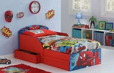 Sleeper Toddler Bed Drawers Spiderman Kids Bunk Beds Disney Children Furniture