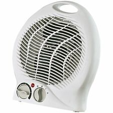 Optimus H-1322 Portable 2-Speed Fan Heater with Thermostat Size: 1 Pack NEW