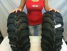 "New Set ITP MudLite AT ATV 25"" Tires 25x10x12 25 10 12 Mud lite MADE IN THE USA"