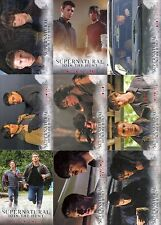 SUPERNATURAL SEASON 1 THRU 3 2014 CRYPTOZOIC COMPLETE BASE CARD SET OF 72