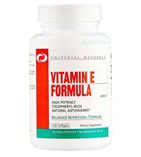 Universal Nutrition Vitamin E Formula 100 Kapseln Vitamin e