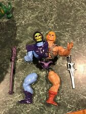 Customized He-Man & Skeletor Two Bad Figure & Battle Cat / Panthor *PLEASE READ*