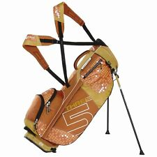 NUOVO Sun Mountain TOUR Donna SUPERLIGHT three5 Carry Stand Golf Bag Papavero