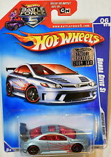 HOT WHEELS 2009 MODIFIED RIDES HONDA CIVIC SI #06/10 FACTORY SEALED