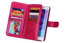 NEW LUXURY LEATHER DETACHABLE WALLET FLIP CASE FOR SAMSUNG GALAXY NOTE 4 IV