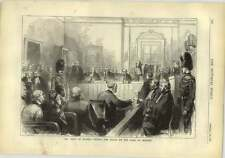 1878 The Trial Of Eugene T'kindt For Fraud On The Bank Of Belgium
